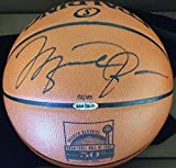 MICHAEL JORDAN Signed 50th Anniversary Spalding Basketball UDA LE 123