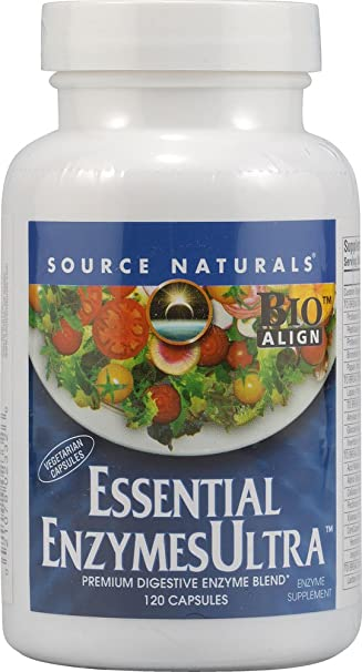Amazon.com: Source Naturals Essential enzimas Ultra ...