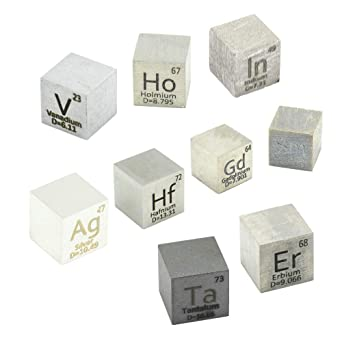 Samarium Metal 10mm Density Cube 99.99/% Pure for Element Collection USA SHIPPING