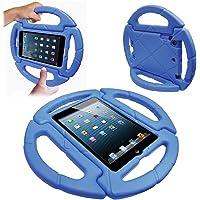 Capa Ipad Mini 7.9 Apple Anti Choque Infantil Volante Azul