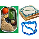DUOMI Dinosaur Cutter Mold Mould DIY For Lunch Sandwich Toast Cake Bread Cookies