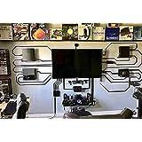 Soporte de pared mágico para PS4, PS4, PRO y PS4, diseño de impresión 3D, problack