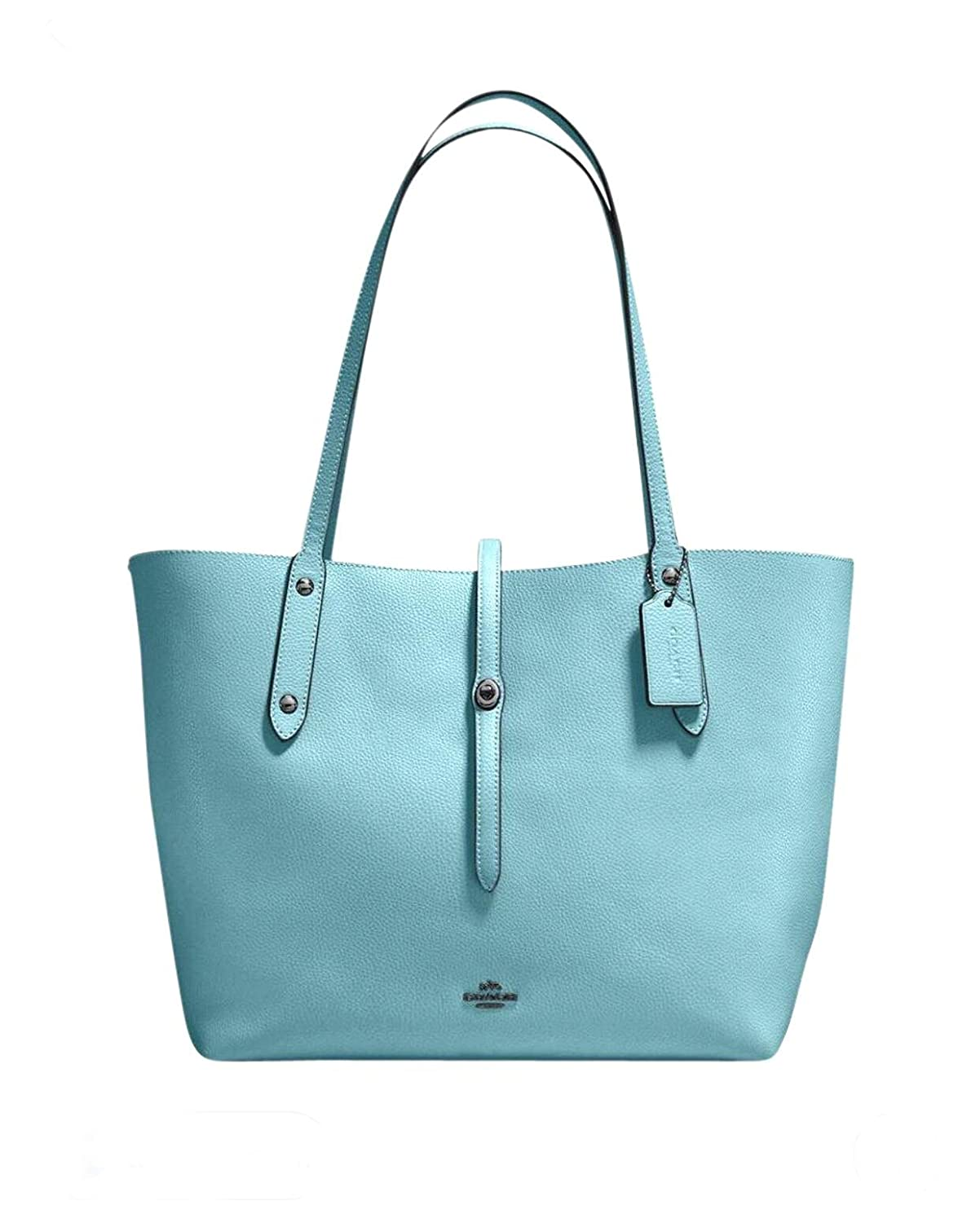 7de71ff6d869 Amazon.com  Coach Market Tote bag in DK Cloud Mineral  Shoes