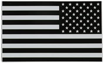 blackwhite american flag vinyl decal sticker left and right side