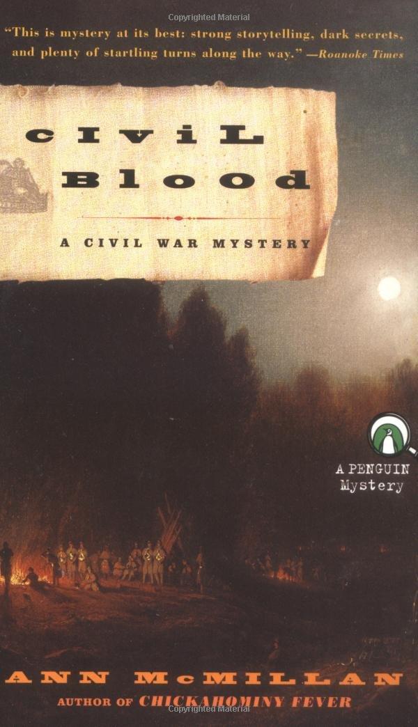 Read Online Civil Blood: A Civil War Mystery PDF