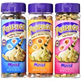 Pounce Moist Cat Treats Variety Pack - 3 Flavors (Caribbean Catch, Seafood Medley, & Tuna) - 6.5 Each (3 Total Canisters)