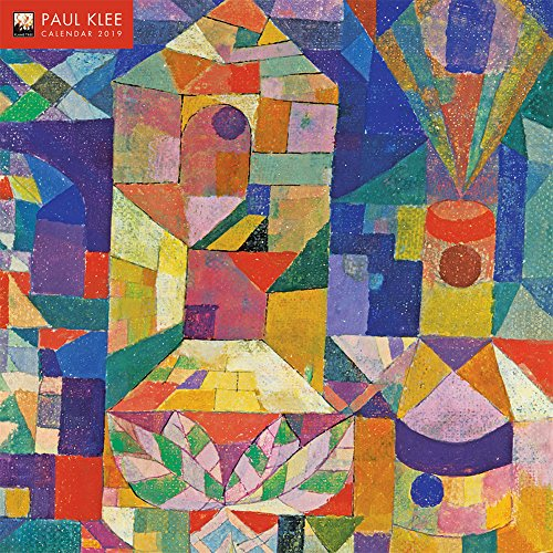 Paul Klee 2019 12 x 12 Inch Monthly Square Wall Calendar by Flame Tree, Swiss-German Art Artist Surrealism Expressionism