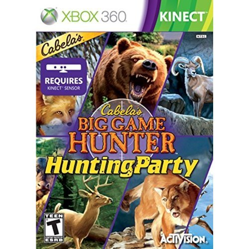 Cabela's Big Game Hunter: Hunting Party XBOX 360 Video Game Kinect GAME...