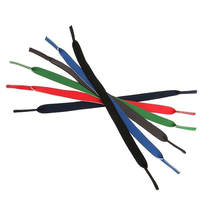 MagiDeal 6 Colori Corda Cavo Cordino Supporto per Occhiali da Vista Sport Occhiali ELXbkCWaM1