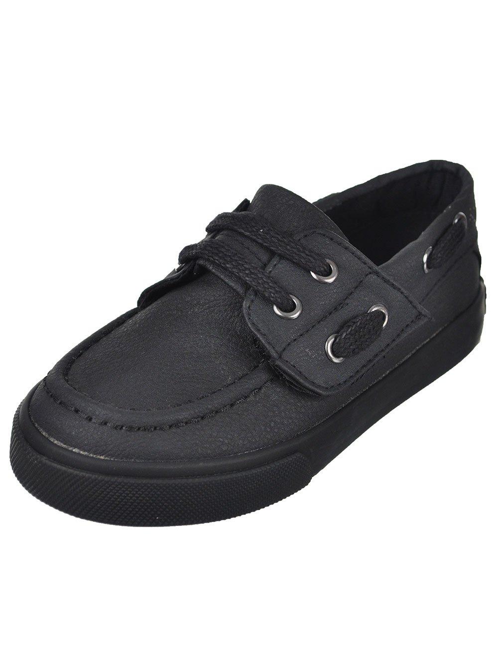 French Toast Boys Toddler Lil Jacob Uniform Dress Shoe Black 5