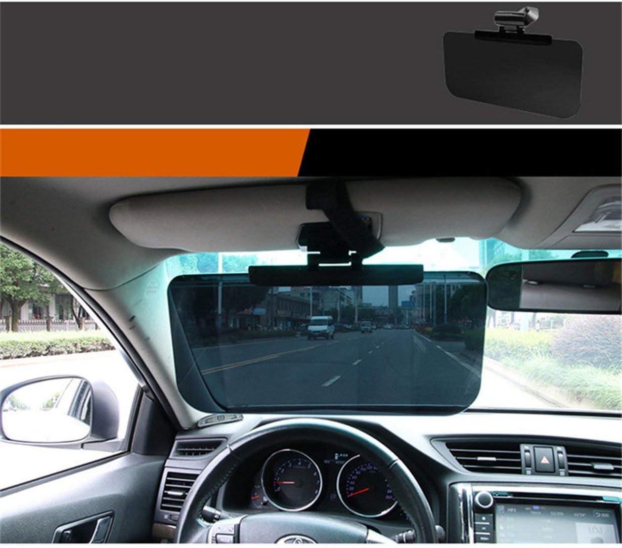 Schwarz camellia Auto Sonnenblende HD Blendschutzbrille Windschutzscheibe Sun Blocker Auto Sonnenbrille Schild UV-Blocker-Tag-Nachtsicht