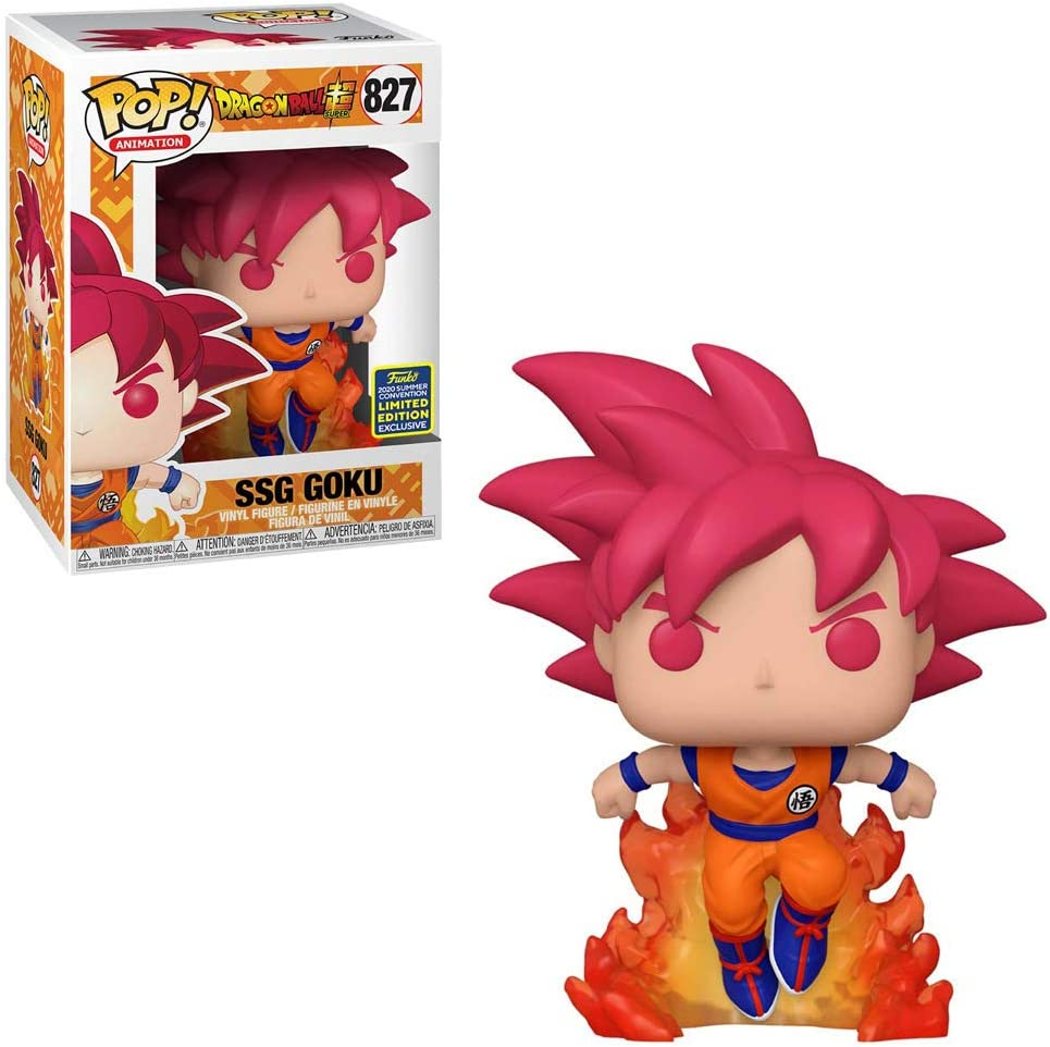 POP PROTECTOR VINYL Dragon Ball Z Super Saiyan Goku First Apperance Glow Pop