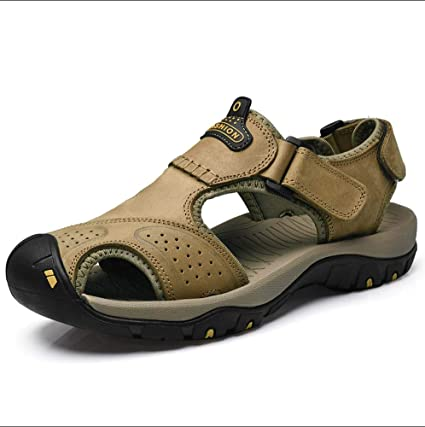 578a9a5a5fa39 Amazon.com: GHFJDO Men Hiking Trekking Sandals,Outdoor Summer Closed ...