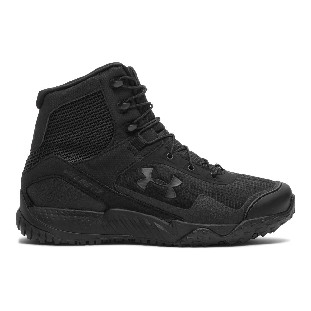 Under Armour Men's Valsetz RTS, Black (001)/Black, 8 by Under Armour