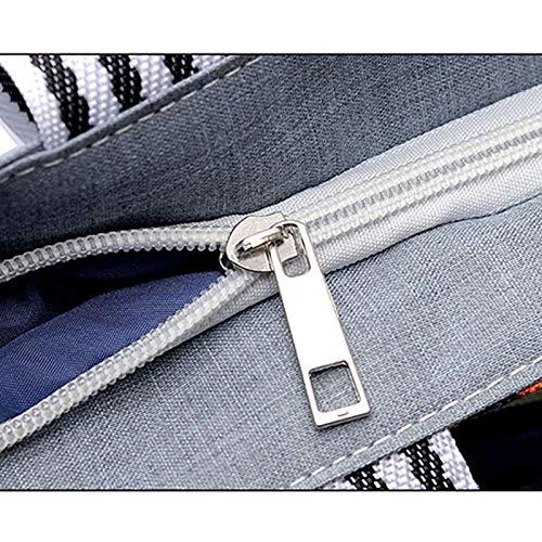 Bigboba Et Style Grande Shopping Sac En Élégant Capacité Toile Simple 3 À Main Bandoulière rrq0n4aR