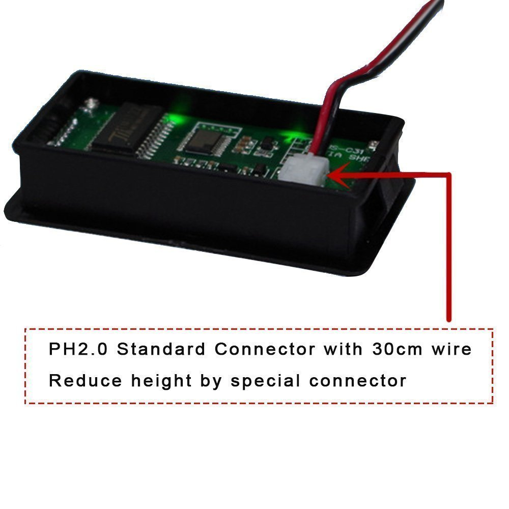 7S 29.4V Lithium Battery Fuel Gauge Indicator Meter For Electric Bike,Fork Lift,ATV,Quads,Golf Cart,Golf Trolley (7S 29.4V Fuel Gauge)