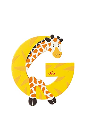 Amazon.com: SEVI 1831   Graffiti Animals   Letter G Giraffe (81607