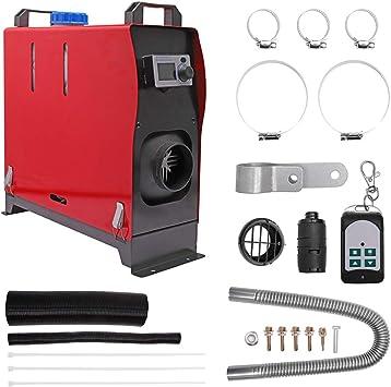 RV Caravana Remolque camiones KW 12/V Calentador Diesel aire Coche Air Calentador Calentador del aparcamiento Monitor LCD Termostato para furgonetas
