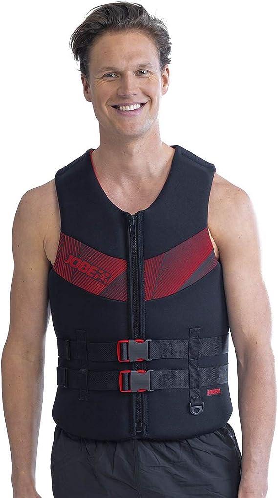 Jobe Progress Dual Nylon Vest Red Lifejacket bootsweste Waterski