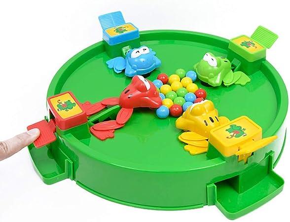 YLYX Juguetes Educativos para Niños Adecuados para Niños Mayores de 3 Años Juegos De Mesa para 2-4 Personas Juego con Ranas para Atrapar Frijoles Materiales Plásticos Ranas,G: Amazon.es: Hogar