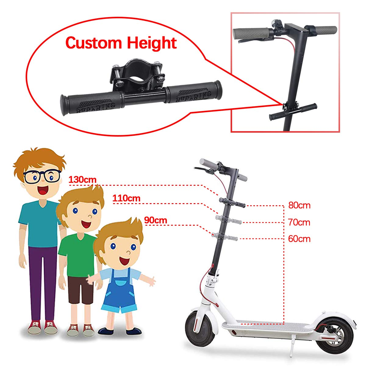 Electric Scooter Children Handle Child Armrest for XIAOMI MIJIA M365 Scooter