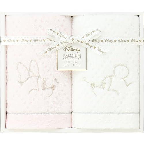 UCHINO Disney タオルギフト ホワイトハピネス