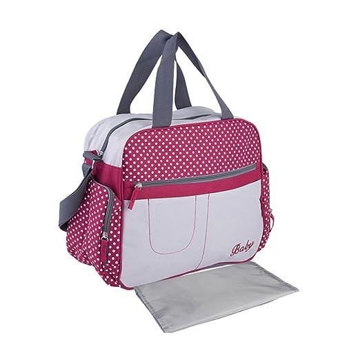 4 opinioni per Yimidear multifunzionale impermeabile borsa per cambio neonato Tote a spalla a
