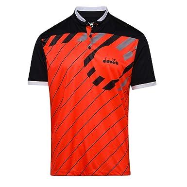 Diadora T Shirt Polo SS pour Homme: : Vêtements