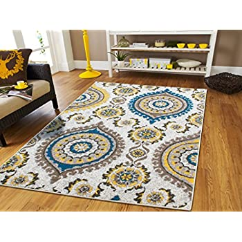 Amazon.com: Large Area Rugs 8x11 Dining Room Rugs for