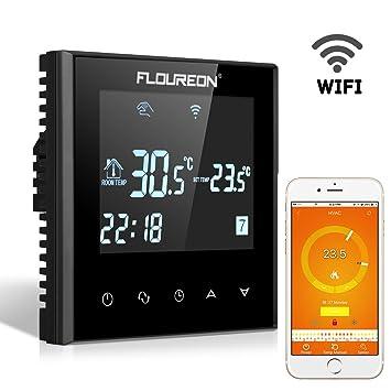 FLOUREON WLAN Thermostat Smart Raumthermostat Heizkörperthermostat ...
