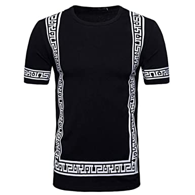 Men's Clothing 2019 Fashion Summer T Shirt Men Hip Hop Solid Hooded Top Tees Casual Slim Fit Short Sleeve Mens T-shirt