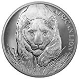 #8: 2017 TD African Lion 5000 Francs 1 OZ Gem Uncirculated