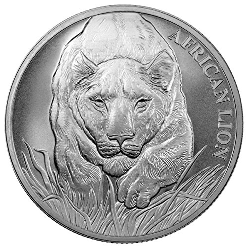 2017 African Lion Francs Uncirculated product image
