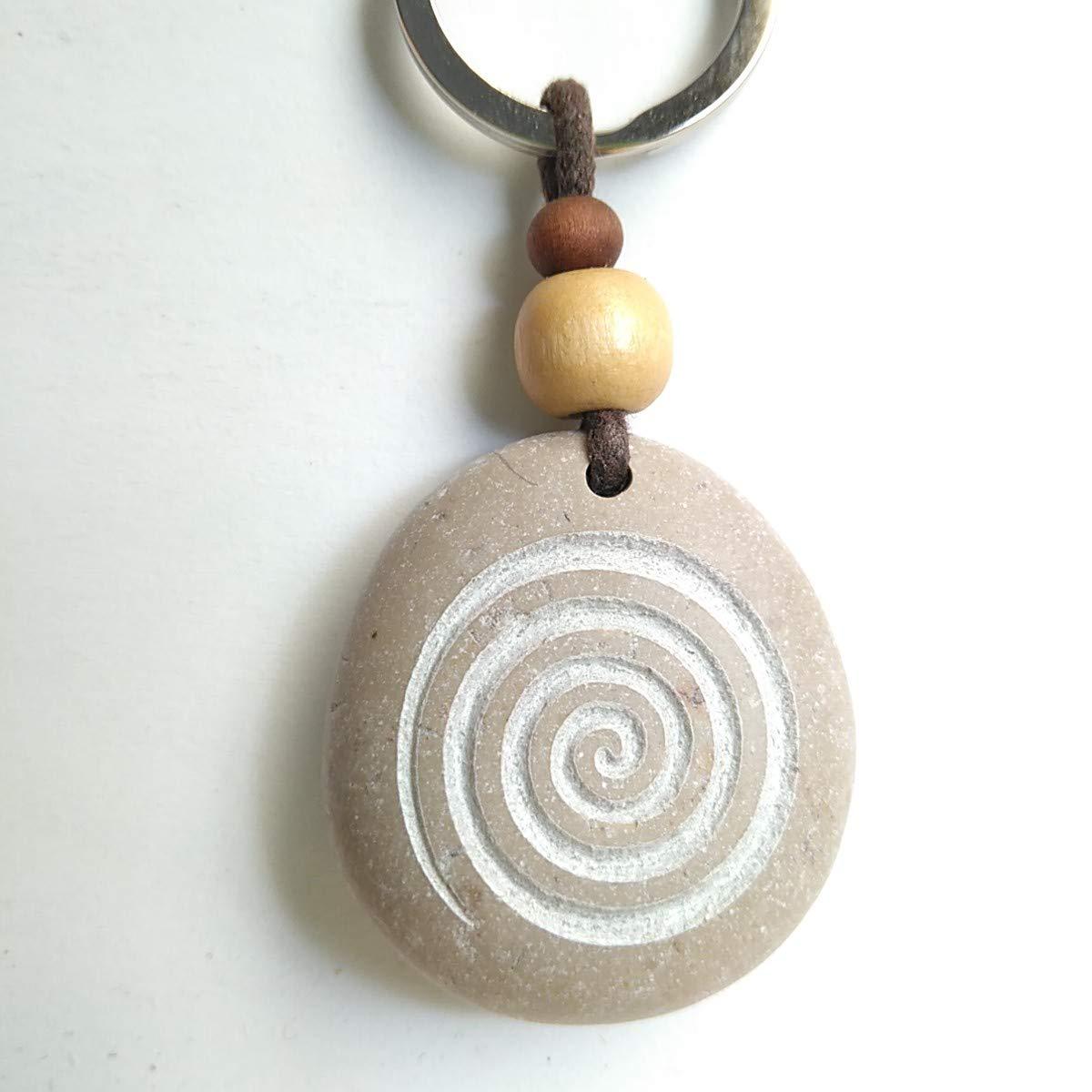 LLAVERO TALLADO ESPIRAL: Amazon.es: Handmade