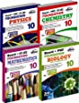 New Pattern Class 10 Boards + PMT/IIT Foundation (Science + Maths) - Set of 4 books