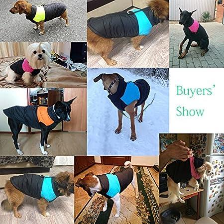 TM per cane//gatto taglia piccola media e grande S M L XL XXL 3XL 4XL 5XL Cappottino invernale impermeabile Idepet