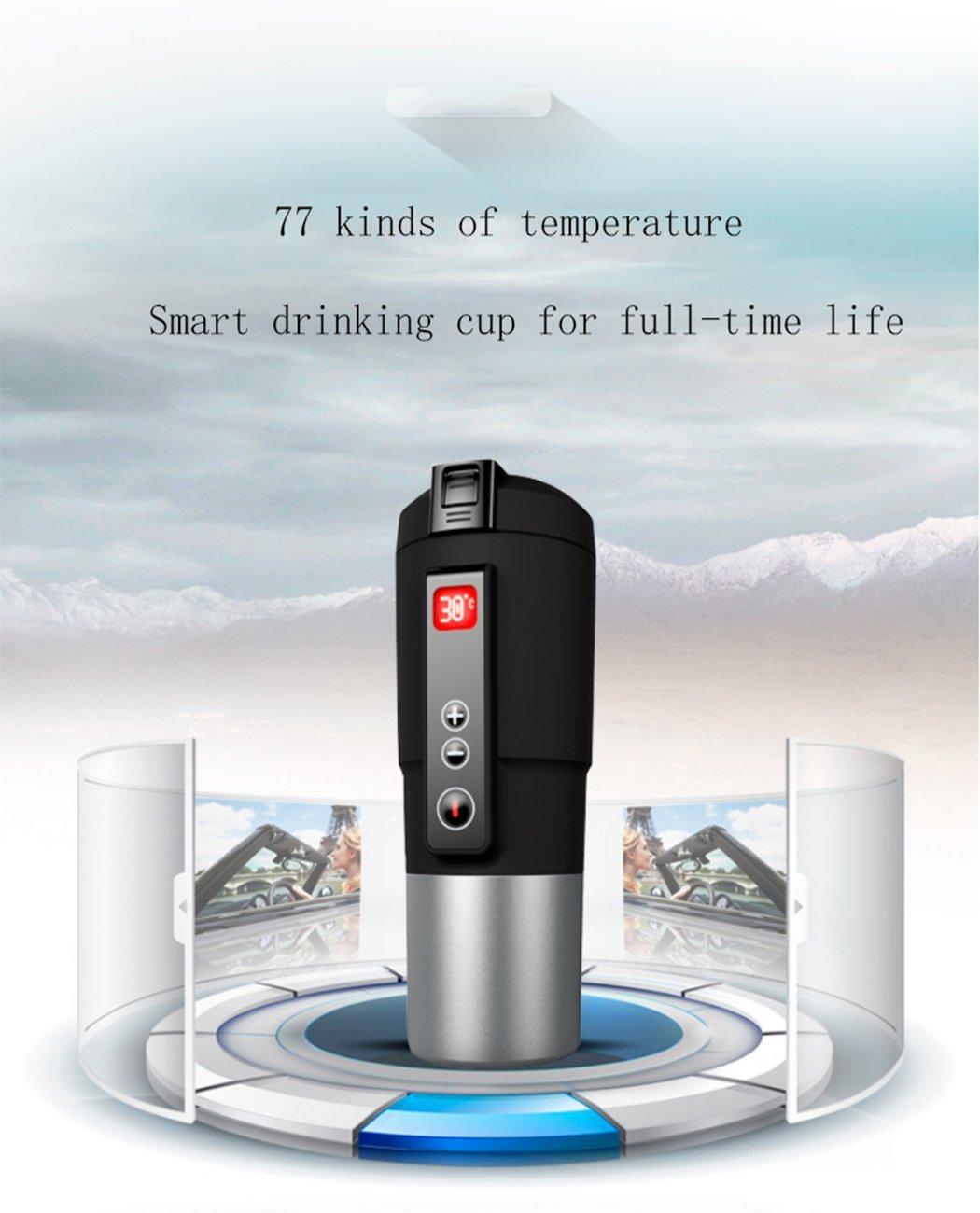 Spatial Element Smart Cup Auto Zu Hause Dual-Use Neue Intelligente Temperaturregelung Tasse Auto Heizung Tasse