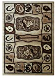 Cheap Western Area Rug 7 Ft. 7 In. X 10 Ft. 6 In. Design #L 374