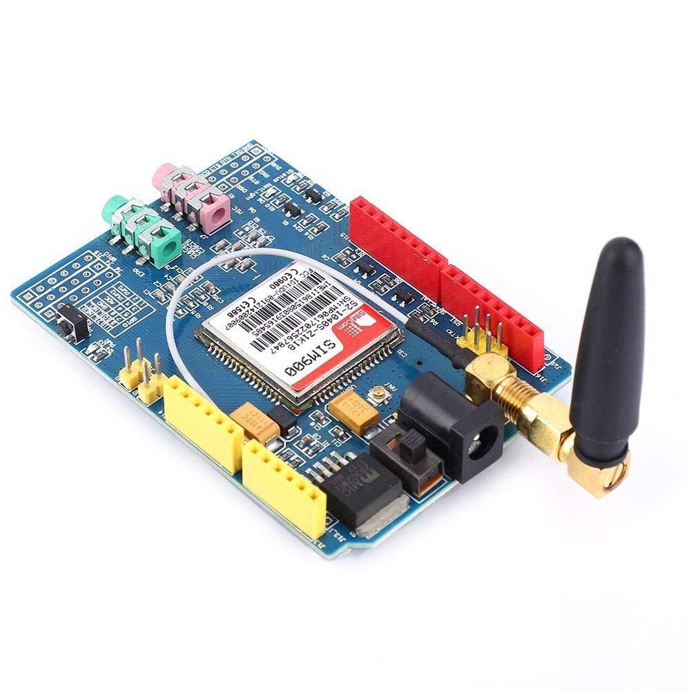 SIM900 850//900//1800//1900 MHz Kit de m/ódulo de placa de desarrollo GPRS//GSM apto para Arduino Placa de desarrollo