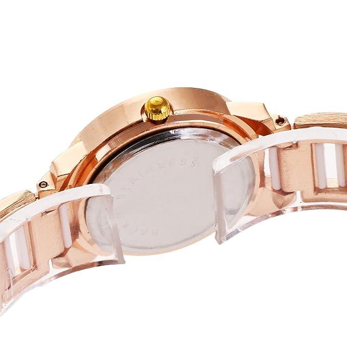 SPORTWATCHES Relojes Hermosos, Pulsera Reloj Mujer Imitación Reloj Mujer Diamante British Student Watch: Amazon.es: Deportes y aire libre