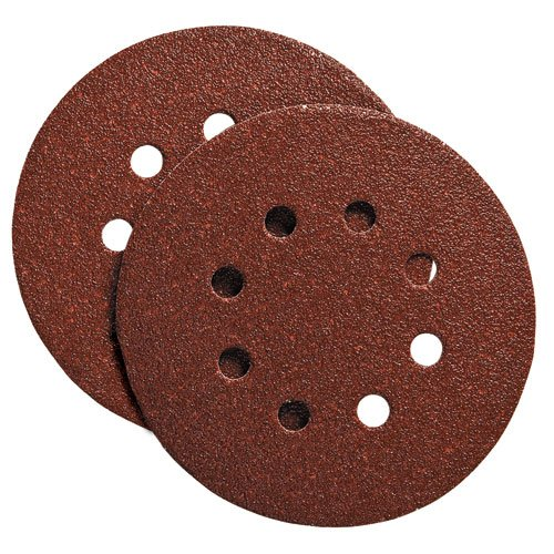 PORTER-CABLE 725801225 5-Inch 8 Hole 120G Disc (25-Pack)