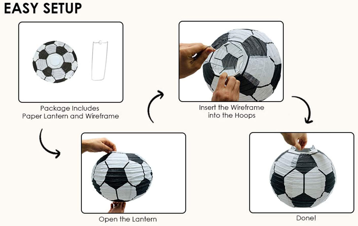 free printable template: black and white paper soccer ball ... | 1000x1500