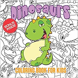 Coloring Book 2 Dinosaurs
