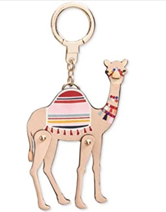 Kate Spade Camel Spice Things Up Keychain Fob Multi
