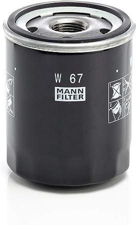 Original Mann Filter Ölfilter W 67 Für Pkw Auto