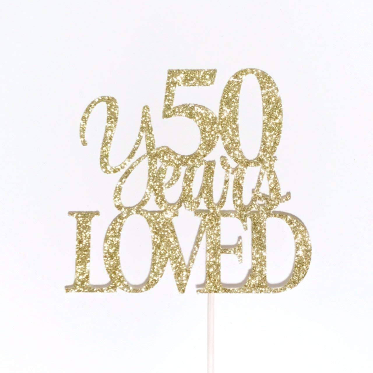 50th Birthday Cake Topper 50 Anniversary Topper Atelier Elegance Limited 1970 Edition Cake Topper