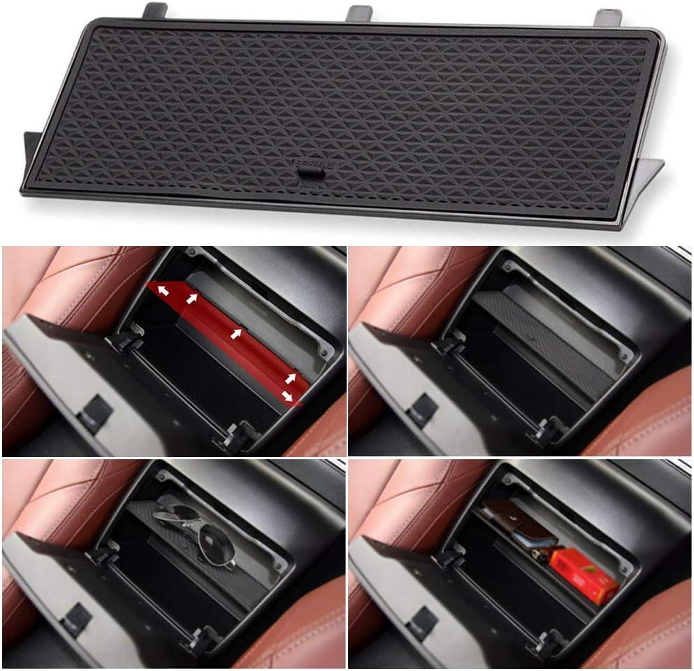housesweet Car Center Console Organizer Armrest Tray Console Organizer Secondary Storage Box Insert Glove Compartment Car Accessories for Mazda MX-5 RF MIATA 2019