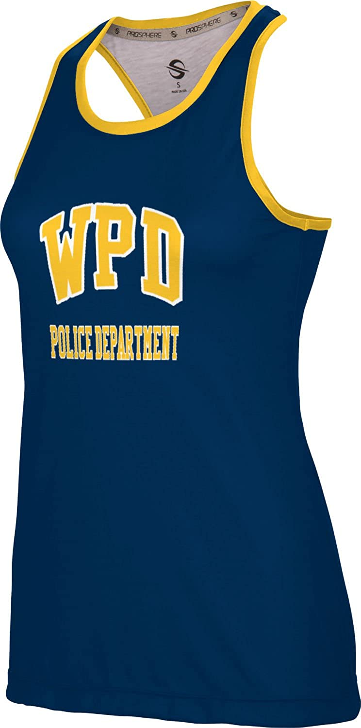 ProSphere Women's Whittier Police Department Crisscross Loose Training Tank