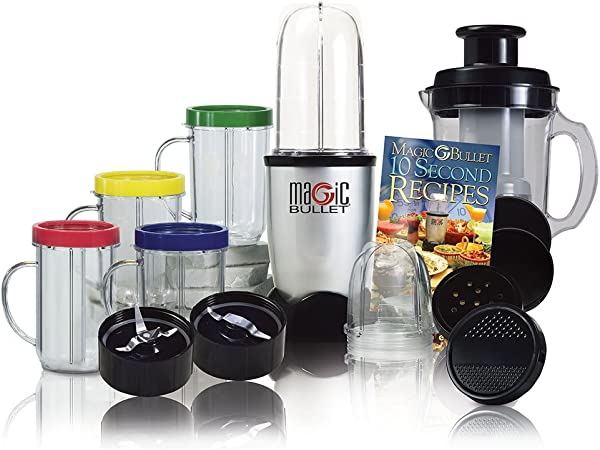 Magic Bullet multifunción batidora, rápido y combinable con ...