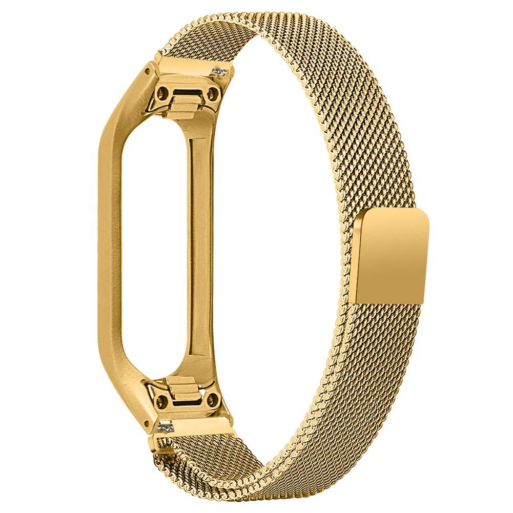 Duk3ichton Uhrenarmband Edelstahl Ersatzarmband Uhrenarmband F/ür Samsung Galaxy Fit-e R375